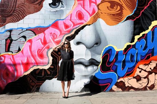 Veronica Taylor, full skirt, Style, fashion, Silverlake