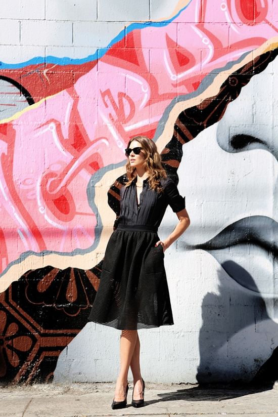 Street style, NYFW, Full-skirted, Blogger, Veronica Taylor