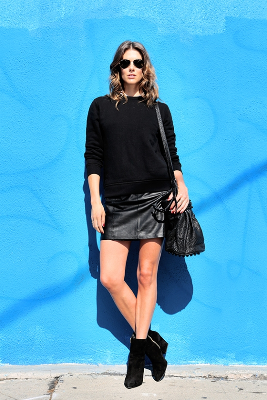 "≠""Alexander Wang, style blogger, street style, veronica taylor"""